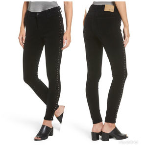 NEW Band of Gypsies Skinny Studded Jeans